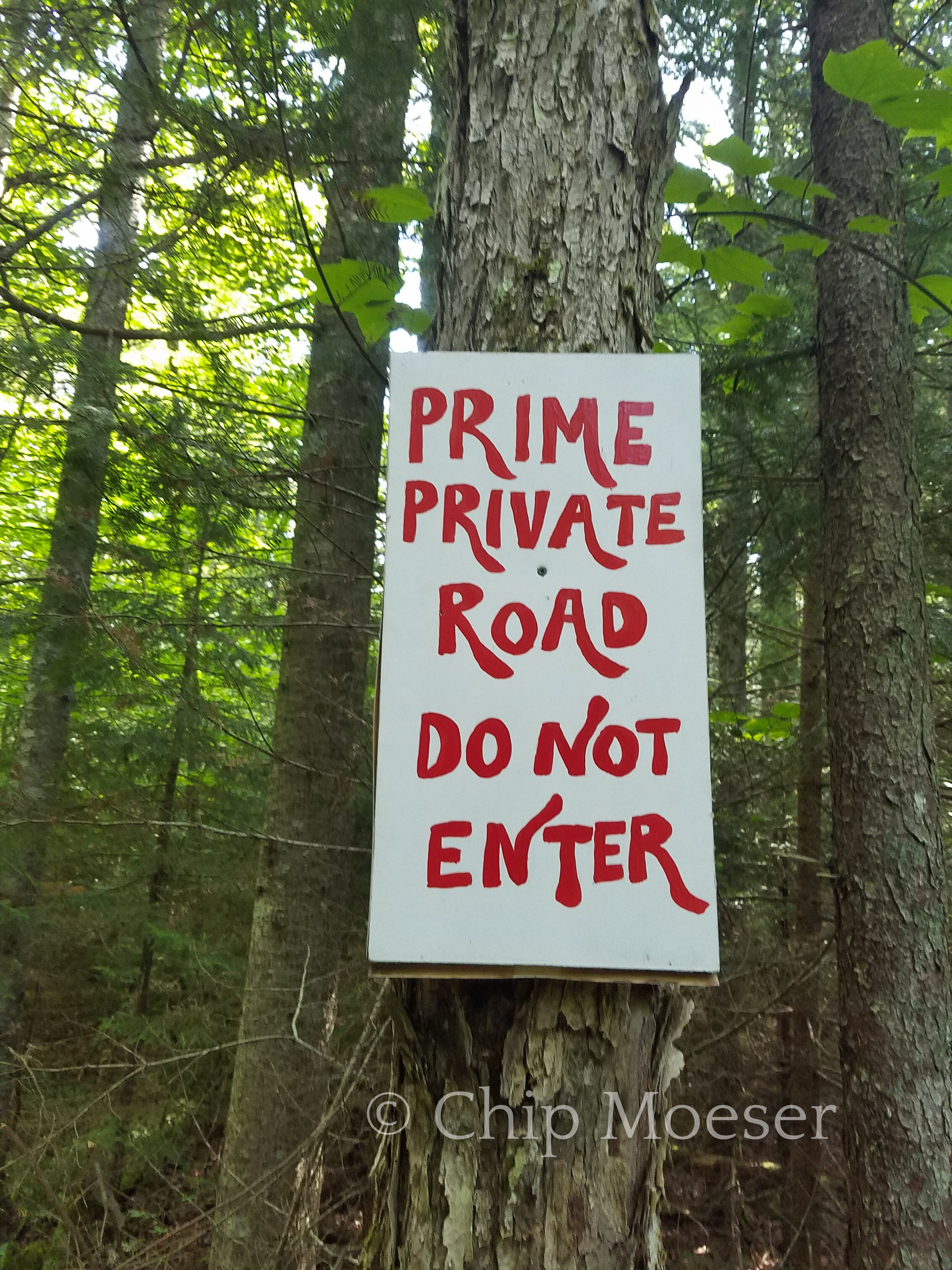 'Prime' Private Road