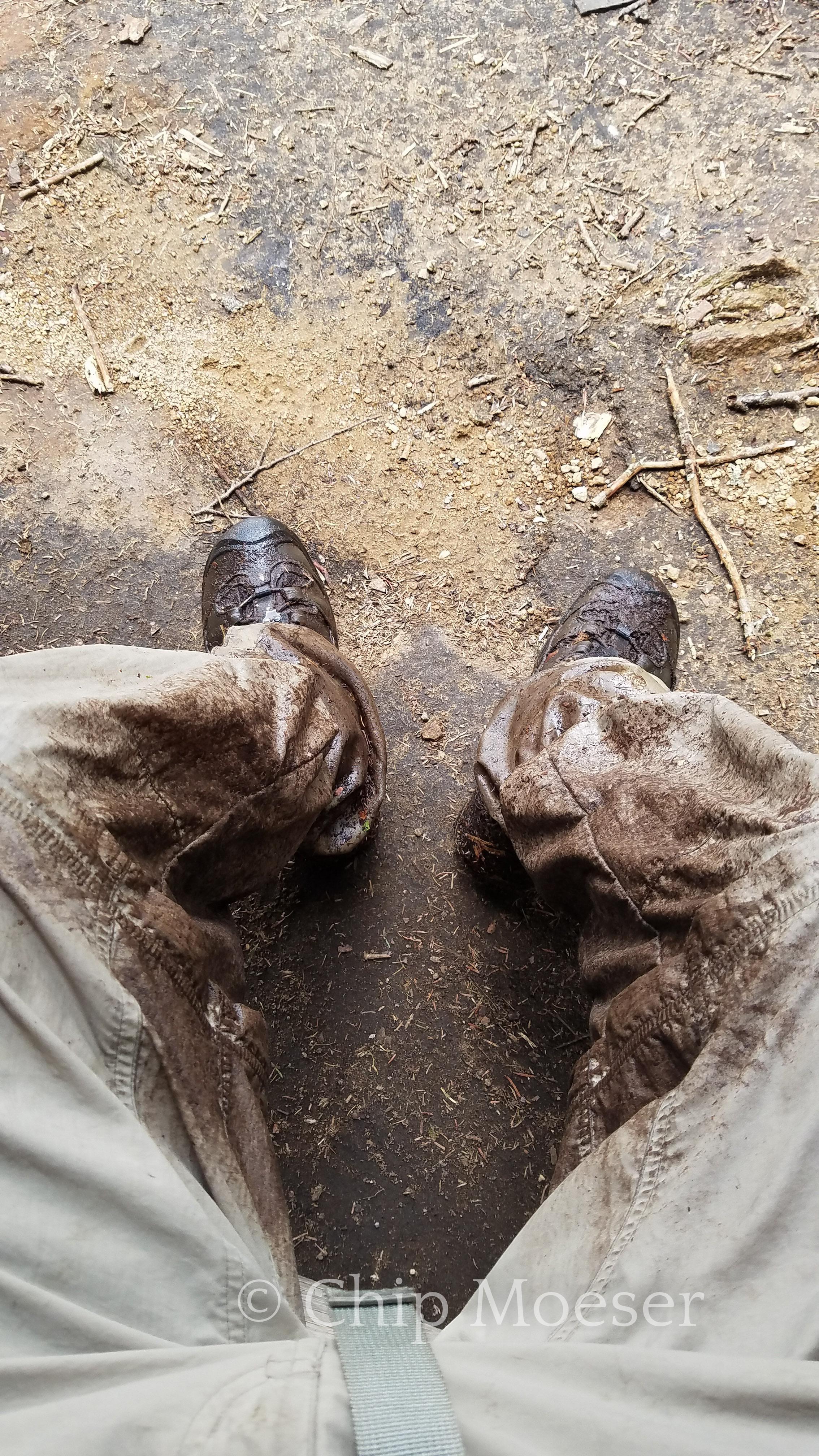 He was a mudder!