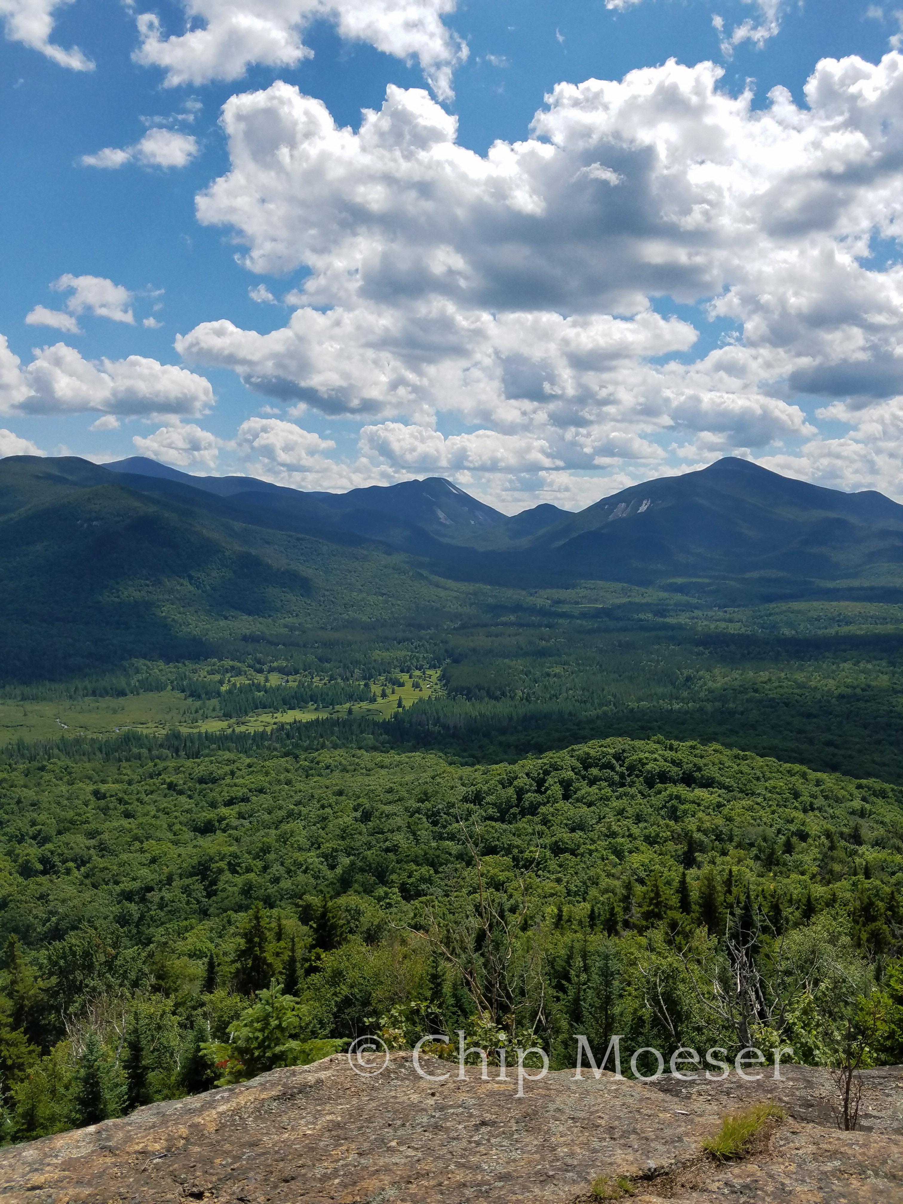 Looking south from Mt. Van Hoevenberg
